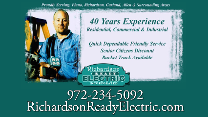 Richardson  Ready Electric Inc,TEXAS